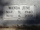 Wanda June <I>Blackmon</I> Stephens