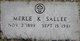 Merle <I>Keeler</I> Sallee