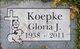Gloria J. Koepke