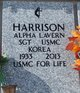 Alpha Lavern Harrison