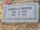 Profile photo:  America P Broxton