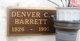 Denver C. Barrett