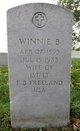 Winnie <I>Bourgeois</I> Freeland