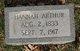 Hannah <I>Brown</I> Arthur