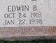 Profile photo:  Edwin B. Byers