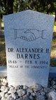 Profile photo: Dr Alexander H Darnes