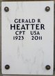 Profile photo:  Gerald Richard Heatter