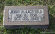 Profile photo:  Jerry N. Lacefield