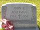 Profile photo:  John Conrad Ackerman, Jr