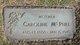"Profile photo:  Caroline ""Carrie"" <I>Thomas</I> McPhee"