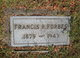 "Francis Richard ""Frank"" Forbes"
