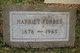 Harriet Forbes