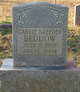 Profile photo:  Carrie L. <I>Breeden</I> Beddow