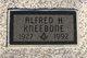"""Profile photo:  Alfred H. """"Al"""" Kneebone"""