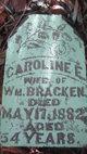 Caroline E. <I>Kindell</I> Bracken