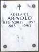 Profile photo:  Adelaide Arnold