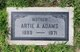 Profile photo:  Artie Augusta May <I>Calico</I> Adams