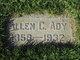 Profile photo:  Allen Clinton Ady