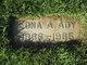 Profile photo:  Edna A Ady