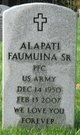 Profile photo:  Alapati Faumuina, Sr