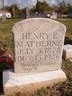 Profile photo:  Henry Eugene Matherne
