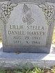 Lillie Stella <I>Daniel</I> Harvey