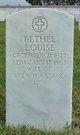 Profile photo:  Bethel Louise Aasand