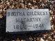 Profile photo:  Bertha Julia <I>Gilcrest</I> Macarthy