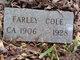 Profile photo:  Farley Cole