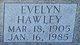 Profile photo:  Evelyn Hawley