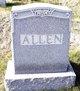 Annie B <I>Edgecomb</I> Allen