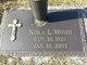 "Nora Nancy  Lee ""Toad"" <I>Richie</I> Wood"