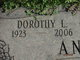 Profile photo:  Dorothy Louise <I>Wolter</I> Andrews