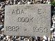 Profile photo:  Ada Elizabeth Cook