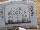 Profile photo:  Callie Broxton