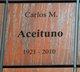 Profile photo:  Carlos Aceituno
