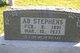 "Profile photo:  Abner ""Ab"" Stephens"