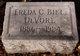 Freda Clara <I>Biel</I> DeVore