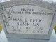 Marie <I>Peek</I> Jenkins