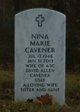 Profile photo:  Nina Marie Cavener