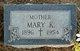 Mary Katherine <I>Jacobs</I> Burkhart