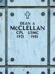 Dean Alfred McClellan