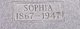 Sophia A <I>Gmelich</I> Beaman
