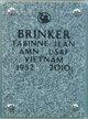 Profile photo:  Fabinne Jean Brinker