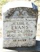 Jessie E Evans