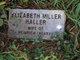 Profile photo:  Elizabeth <I>Miller</I> Haller