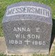 Profile photo:  Anna Elizabeth <I>Busart Jennings Wilson</I> Messersmith