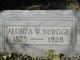 Profile photo:  Alonza W. Burdge