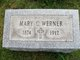 "Mary Catherine ""Marie"" <I>Bach</I> Werner"