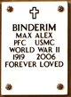 Profile photo:  Max Alex Binderim
